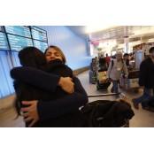 미 입국 금지 이란 학생, 야하니 LA로 돌아와