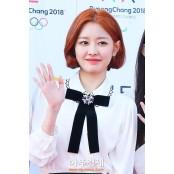 [포토] 포즈 취하는 미미123 구구단 미미 (평창 미미123 드림콘서트)