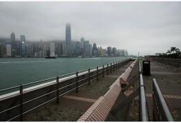 유령도시 된 홍콩 '쇼