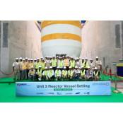 한전, UAE 바카라 코리아바카라 원전 3호기 원자로 코리아바카라 설치