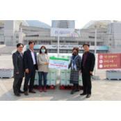초록우산 지역아동센터 대구지원단에 소독용에탄올 소독용 에탄올 200개 소독용에탄올 전달