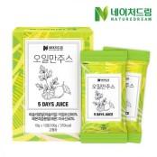 V라인과 S라인 완성 '네이처드림 오일만주스' 디톡스오일 출시!