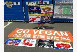 한국채식연합, '가재와
