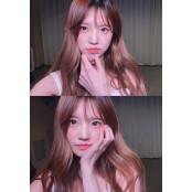 프로미스나인(fromis_9) 송하영, 러블리 러블리밤 인형 비주얼..심쿵 아이컨택 러블리밤