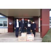 태안교육지원청 코로나-19 소독물품 폴리글러브 지원