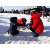 가까운 곳에 있는 눈과 얼음 안전한놀이터찾는법 겨울놀이터!