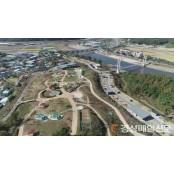 군위 위천수변 테마파크 내 짚라인 설치사업 추진