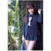 하시모토 아리나, 세라복 세라복 입고