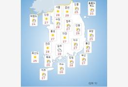 [오늘의 날씨 및 내일날씨] 기상청 일기예보, 추석 전국 비..태풍 찬투 일본 ...