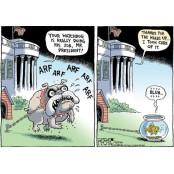 [글로벌-이슈 24] 트럼프의 19만화 정부 '파수꾼' 역할 19만화 감찰관 잇단 해임 19만화 비판 풍자만화 '공감 19만화 100배'