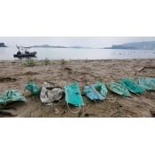 마구 버린 마스크⋅장갑, 수술장갑 바다 생태계 위협하는 수술장갑 흉물로
