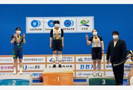 광주시청 안시성, 여자역도선수권 3관왕