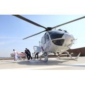 안동병원 119닥터헬기 도움으로 생명을 구했다