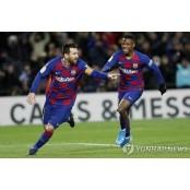 FC바르셀로나, 그라나다 1-0 승리...메시 결승골