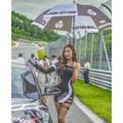 모델 허애선, CJ대한통운 파워레이스 슈퍼레이스 챔피언십으로 레이싱모델 파워레이스 활동 재개