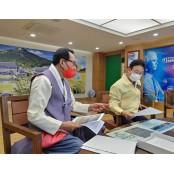 김호일 대한노인회장, 이철우 경북도지사 만나 현안 협조 요청