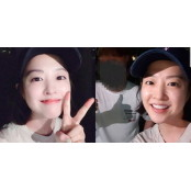 어제자(29일) 부산 해운대서 팬들과 깜짝 번개팅