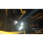 폭염주의보 내린 9일, 현대제철 공장에서 식염 쓰러진 노동자