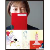 [#webtoon ] 야한 그림 그리는 여자 민조킹 일본여자속옷