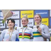 사이클 경륜 이혜진, 일본경륜 세계선수권에서 한국 첫 일본경륜 은메달
