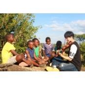 순수한 말라위 아이들이 우리를 노래하게 탱가 만든다