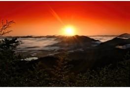 [트래블투데이] 구름이 춤추는 옥천 용암사 운무대, '일출'사진 명소'