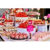 온 몸으로 퍼지는 나비그라 새콤달콤한 에너지! 호텔에서 나비그라 딸기파티 즐겨요!