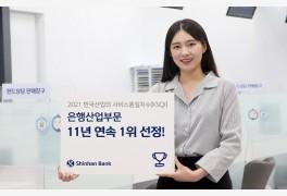 신한은행, 2021년 한국
