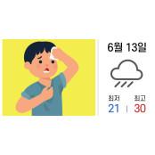 후덥지근 땀나는 날씨, 다한증 관리 이렇게