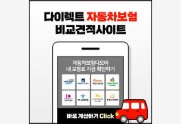 다이렉트 자동차보험료