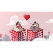 코로나19: 사이버섹스에서 루프탑 식사까지...세계인의 데이트 이야기들