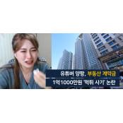 """""""유명 유튜버 계약금 1억1000만원 먹튀""""…사건의 먹튀중개 진실은"""