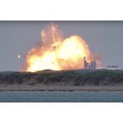성공 위해 실패는 계속된다…스페이스X 크루드래건 프로토 발사 성공 하루전 차세대 로켓 프로토 폭발