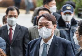 """주사위 던진 윤석열 """"국민과 함께 광야에서 뛰겠다"""""""