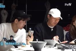 """박성웅 아들 """"이상윤 나오는 영화만 3번 봐"""" (바닷길선발대) [결정적장면]"""