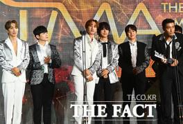 [2021 TMA] 슈퍼주니어, '팬앤스타 초이스' 수상…정상 그룹 입지 확인
