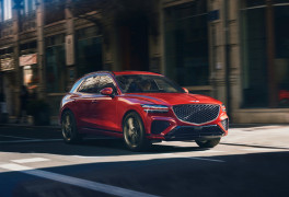 Genesis combines luxury and the latest technology in GV70 SUV
