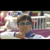 오진혁 금메달…한국 남자, 텐텐스코어 올림픽 개인전 첫 텐텐스코어 우승