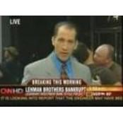 '뉴스 생방송 중 가슴 애무를' 가슴애무 CNN 방송사고