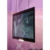"""[포토]삼성전자 극초박형 LCD TV """"눈에 극초박형 띄네"""""""