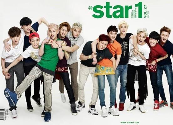 140516 엑소 앳스타일 2014년 6월호 with EXO 5월 22일 발매예정 | 블로그