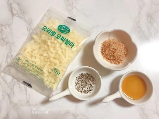 김치치즈전 만드는법 새우가루 넣은 김치부침개 | 블로그