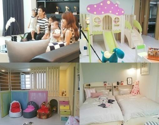 이동국, 다둥이와 함께하는 '맞춤형 하우스'… 모든 게 5개? 궁금하네! | 포토뉴스