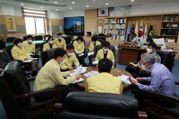 하동군, 코로나19 사회적 거리두기 2단계 조치 | 포토뉴스