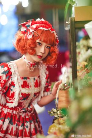阿包也是兔娘 - lolita红裙2[28P-358MB]