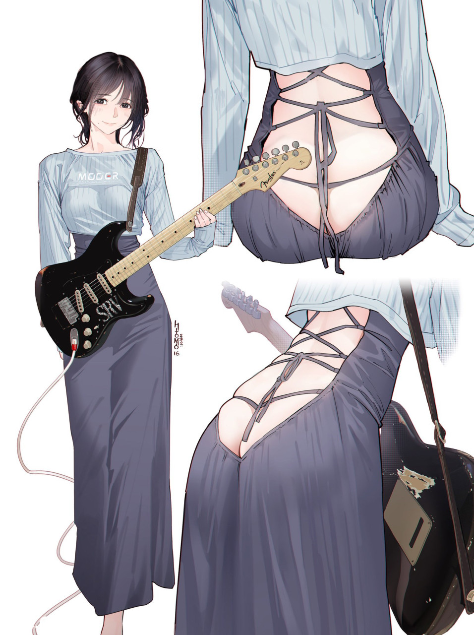 近期走红的吉他妹妹Cosplay人物图汇总