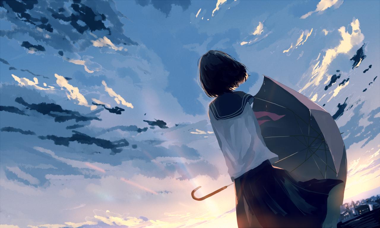 画师#Mifuru-唯美风景壁纸-觅爱图
