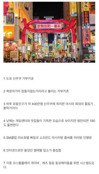 일본에 거주하는 펨코인이 말하는 가부키초 :: 웃긴대학 대기자료 일본에 거주하는 펨코인이 말하는 가부키초